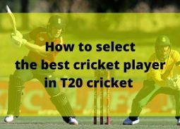 Selecting the best Cricket players