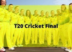T20 Cricket Final